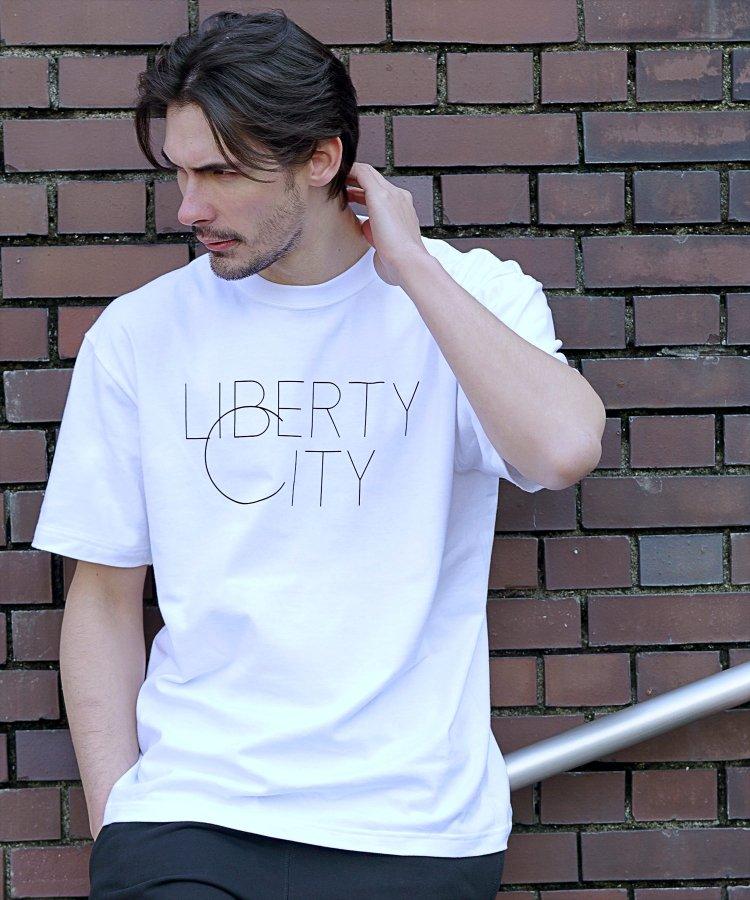 【LIBERTY CITY/リバティーシティ】 [BIG C] Tシャツ