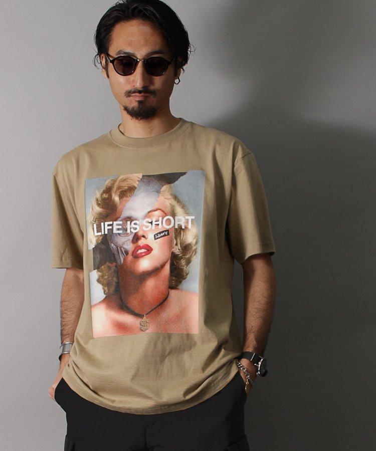 【LIBERTY CITY/リバティーシティ】 [LIFE IS SHORT] Tシャツ