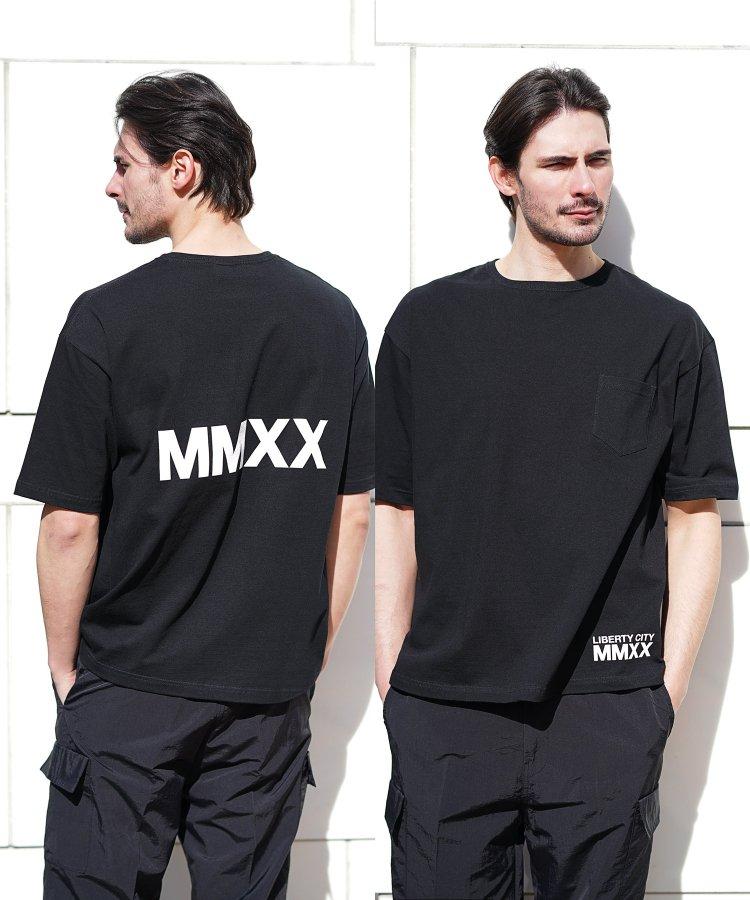 【LIBERTY CITY/リバティーシティ】 [MMXX] ビッグシルエットTシャツ