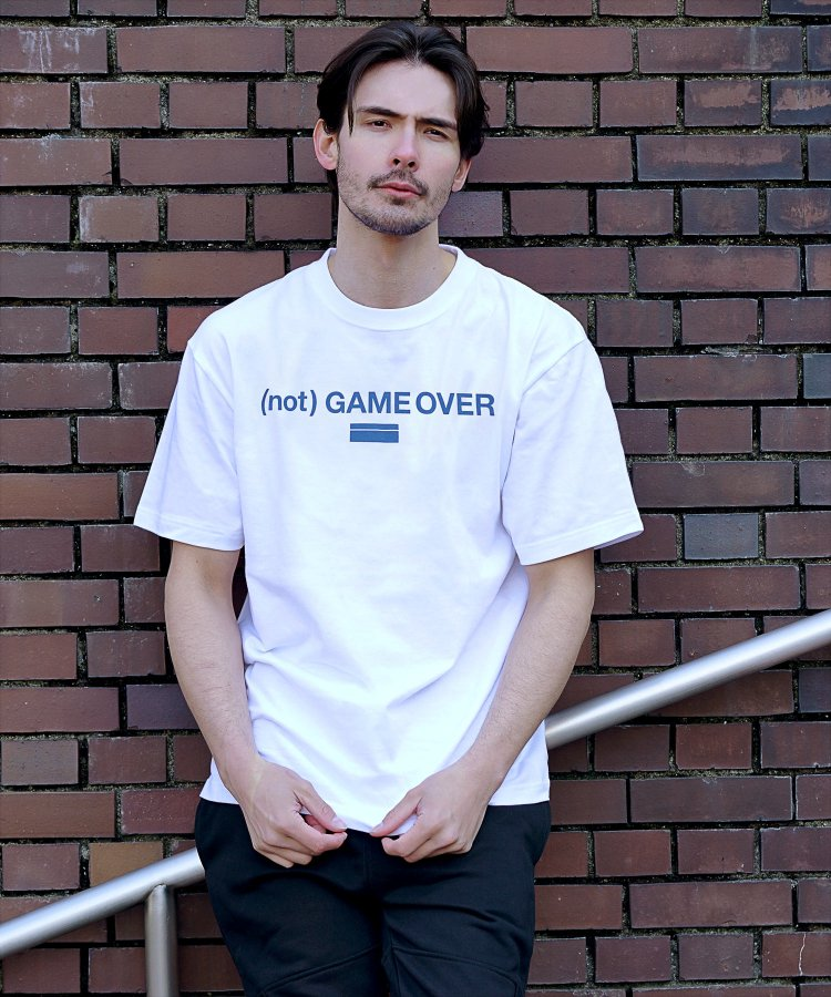 【LIBERTY CITY/リバティーシティ】 [(NOT) GAME OVER] Tシャツ