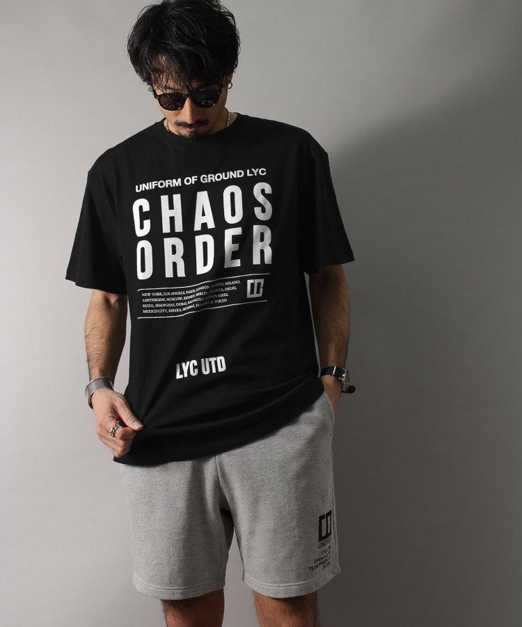 【LIBERTY CITY/リバティーシティ】 [CHAOS/OREDR] Tシャツ