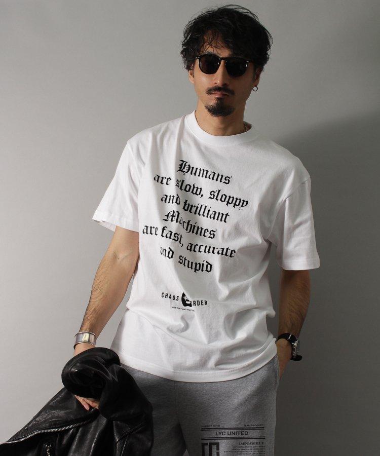 【LIBERTY CITY/リバティーシティ】 [HUMANS/MACHINES] Tシャツ