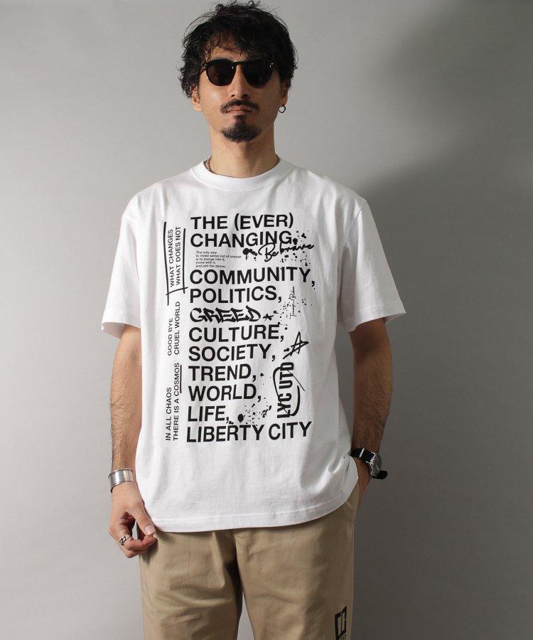 【LIBERTY CITY/リバティーシティ】 [THE (EVER) CHANGING] Tシャツ