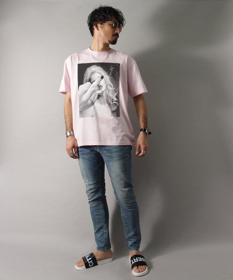 【LIBERTY CITY/リバティーシティ】 [I LOVE YOU] Tシャツ