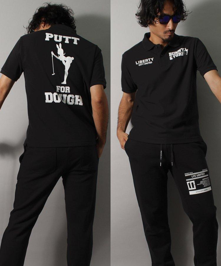 【CITY&TURF】 [PUTT FOR DOUGH] ドライポロシャツ