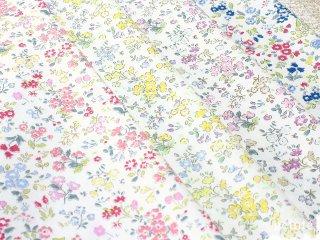 コットンブロード フラワープリント8|生地 布 日本製 花柄生地 コットン100% 綿 薄手 小花柄 ブラウス地 布マスク