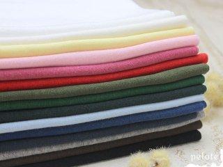 【10cm単位の販売】30/- スパンフライス |ニット 生地 コットン 綿ニット 袖口 首繰り 子供服
