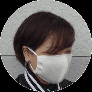 洗える布マスク(2枚入り)