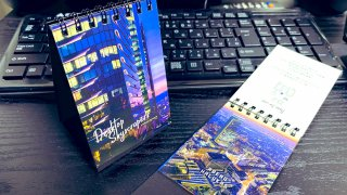 夜行部「Desktop Skyscrapers 卓上型高層ビル夜景写真集」