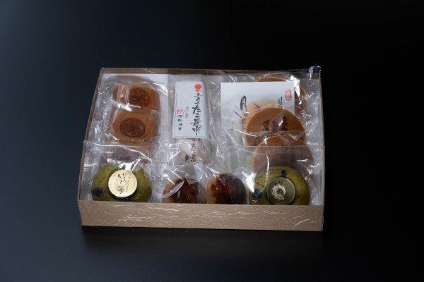 203.【ご法要向け】明植堂コラボお菓子詰め合わせ【紺青】(こんじょう)