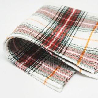 ガーゼミニタオル チェック 24cm×24cm cotton 100%