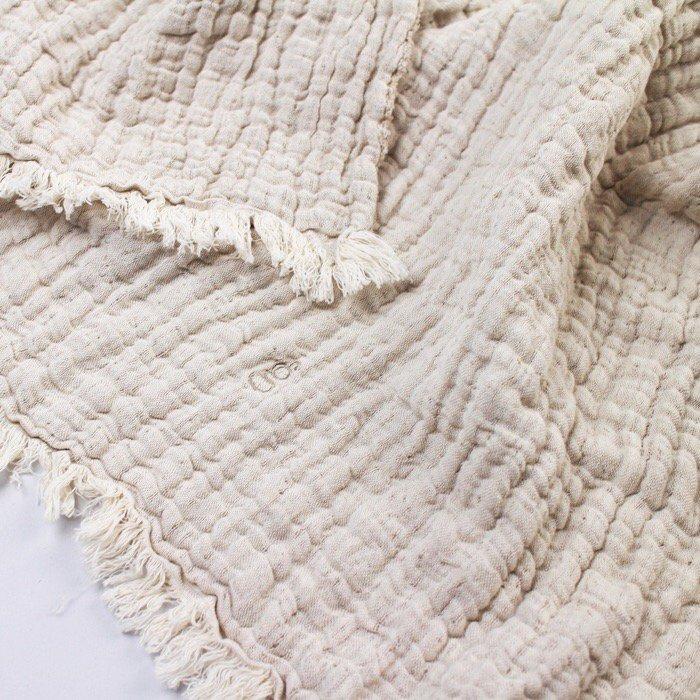 綿麻ブランケット Mellow Lin Blanket /M