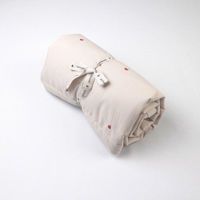 中綿入りブランケット Apple Filled Blanket