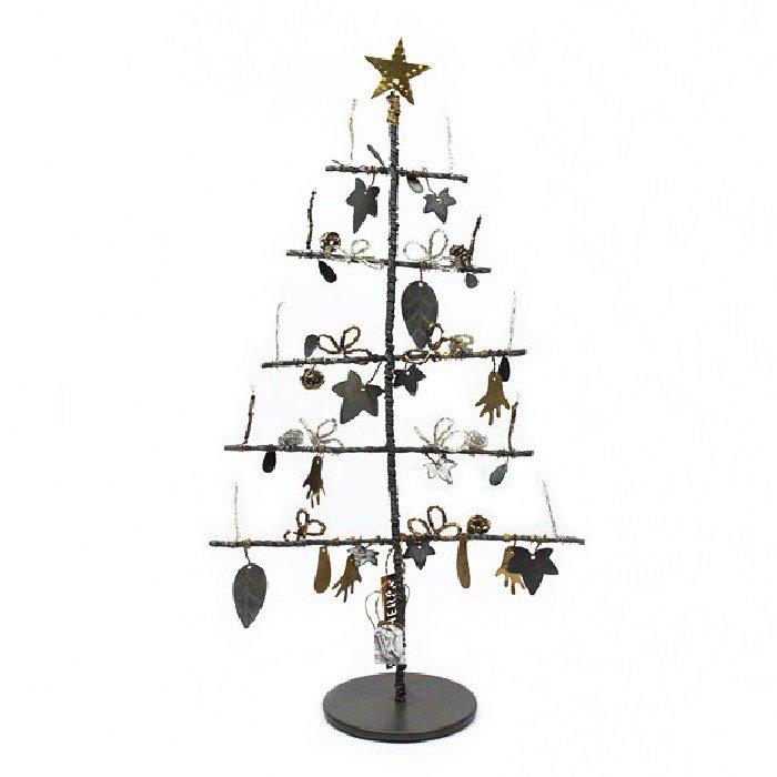 Christmas tree クリスマスツリー・メタルリーフ