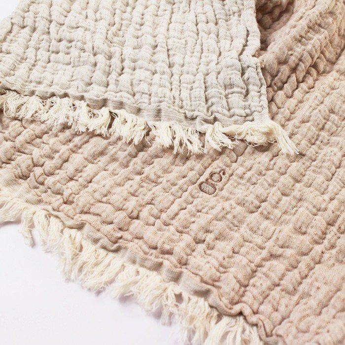 綿麻ブランケット Mellow Tawny Blanket/M