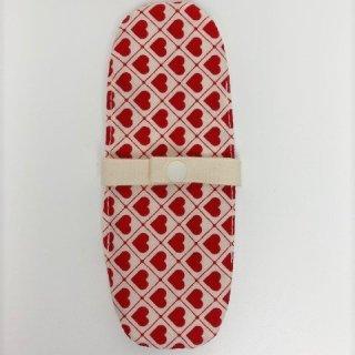 布ナプキン/おりもの用ライナー/赤いハート