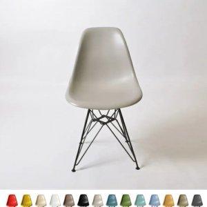 イームズ DSRサイドシェルチェア/Shell Side Chair (ブラック脚)<img class='new_mark_img2' src='https://img.shop-pro.jp/img/new/icons61.gif' style='border:none;display:inline;margin:0px;padding:0px;width:auto;' />