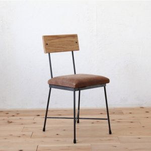 SK DINING CHAIR/LEATHER/SKダイニングチェア<img class='new_mark_img2' src='https://img.shop-pro.jp/img/new/icons61.gif' style='border:none;display:inline;margin:0px;padding:0px;width:auto;' />