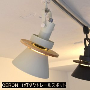 CERON セロン 1灯ダクトレール用スポットライト<img class='new_mark_img2' src='https://img.shop-pro.jp/img/new/icons61.gif' style='border:none;display:inline;margin:0px;padding:0px;width:auto;' />