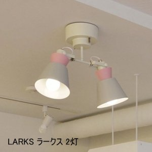LARKS ラークス 2灯シーリングスポットライト<img class='new_mark_img2' src='https://img.shop-pro.jp/img/new/icons61.gif' style='border:none;display:inline;margin:0px;padding:0px;width:auto;' />