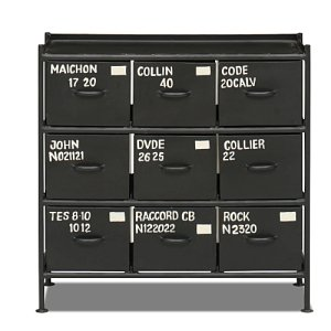 スチールチェスト<ienowa/9杯引出チェスト MSG BK色><img class='new_mark_img2' src='https://img.shop-pro.jp/img/new/icons61.gif' style='border:none;display:inline;margin:0px;padding:0px;width:auto;' />