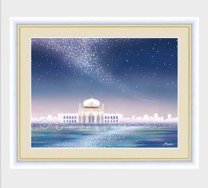 インテリアアートMichiruやすらぎの夜景「天の川」