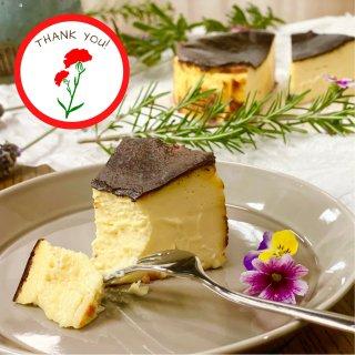 ◎母の日ギフト◎『 森のチーズケーキ 』◆バスク風チーズケーキ◆12cmホール