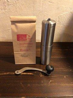 KUSA. の珈琲豆とPORLEXミルセット