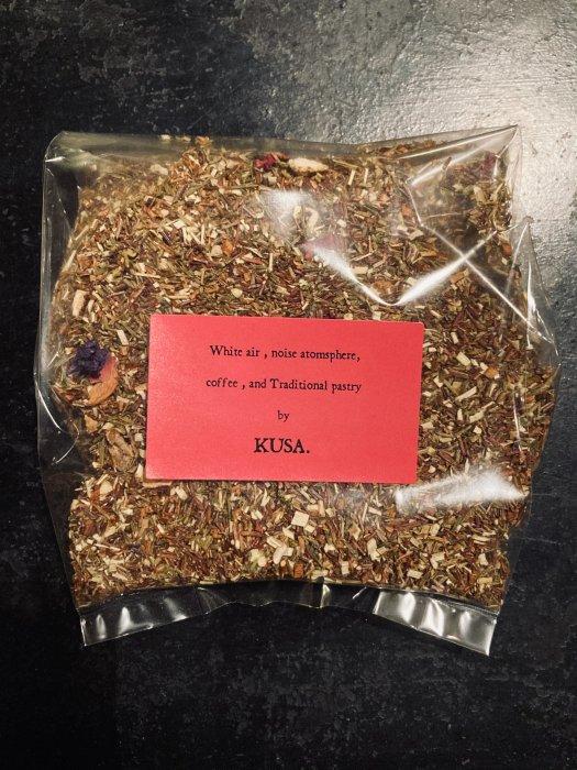KUSA.'s Rooibos Tea since 2005.  <グリーンルイボスティー オリジナルフラワリーブレンド> 50g