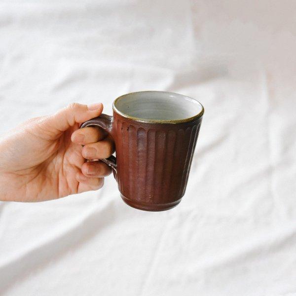 丹水窯(丹波焼) マグカップ(焼締)
