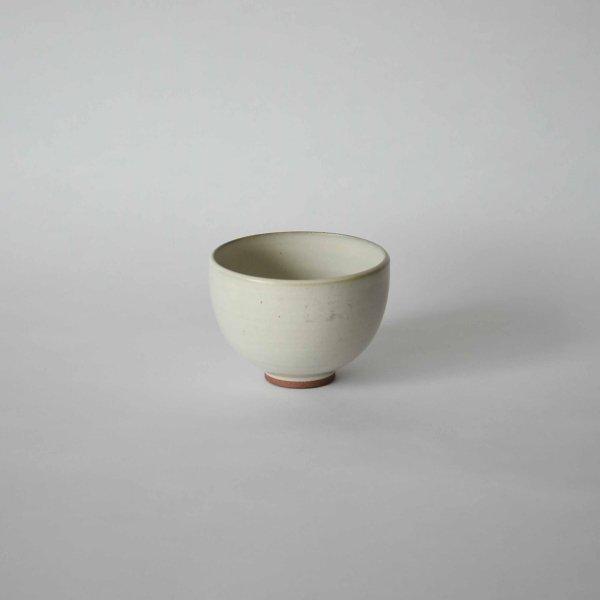 雅峰窯(丹波焼) ラテボウル・白