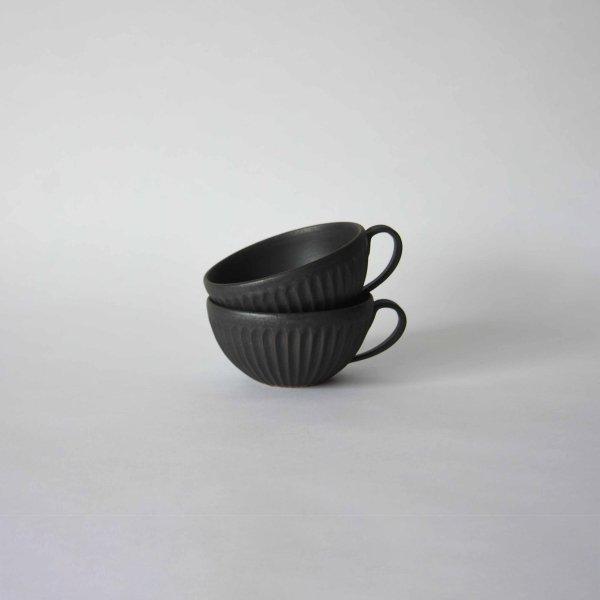 雅峰窯(丹波焼) 広口マグカップ