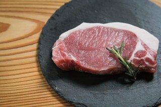 兵庫県淡路島産えびすもち豚ロースステーキ