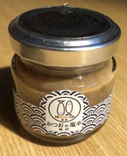 かつおの塩辛(味付)   110g通年商品