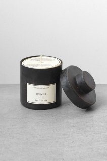 Bougie d'Apothicaire BLACKSMITH scent -   HUMUS - 300g