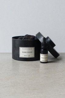 Pot Pourri d'Apothicaire BLACK LAVA ROCK -  DARK WOOD - 300g