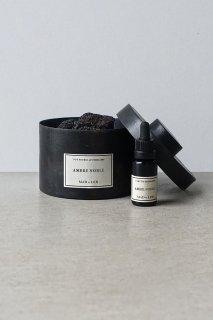 Pot Pourri d'Apothicaire BLACK LAVA ROCK -  AMBRE NOBLE - 300g