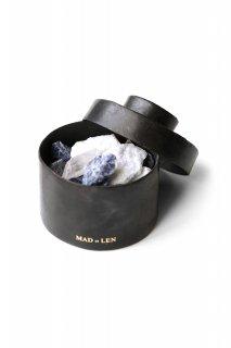 Flat Pot Pourri TOTEM BLUE mini -  calcite bleur , sodalite