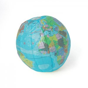 地球儀 紙風船:Sサイズ