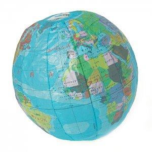 地球儀 紙風船:Lサイズ