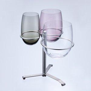 スリーインワン:グラスホルダーセット<br/>(3色)