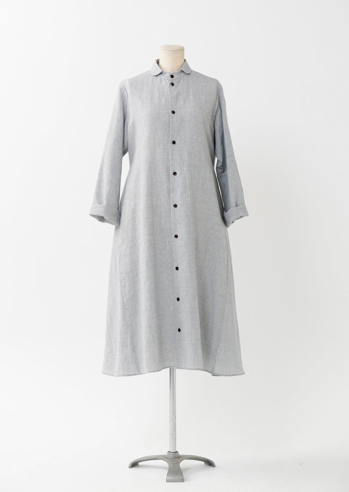 ドレスシャツ/リネンウール