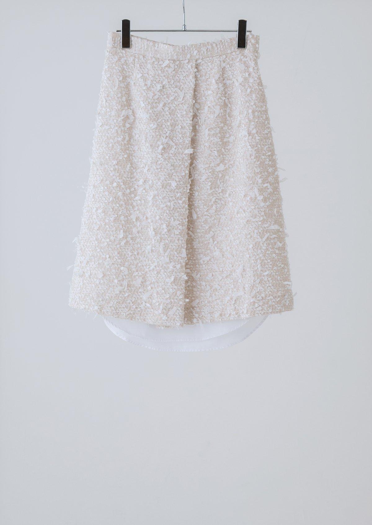 リボンテープシャツヘムスカート