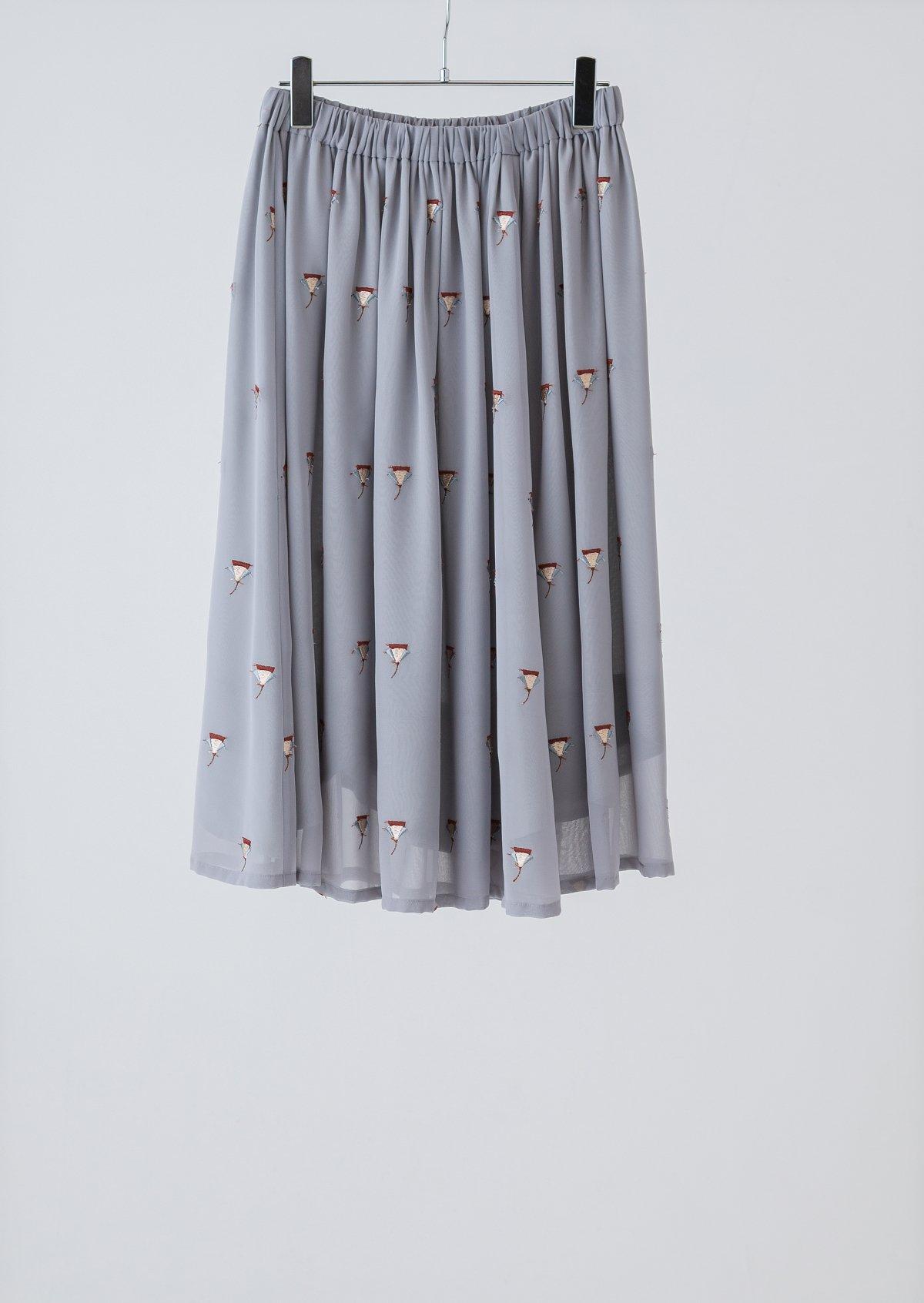 スカラップスカート