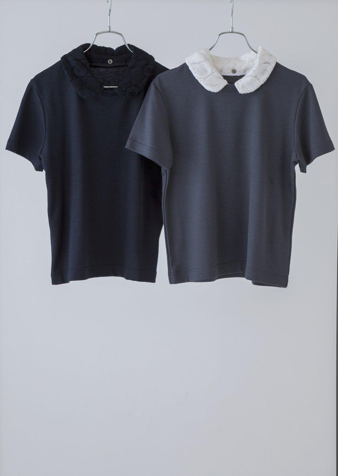 付け衿Tシャツ