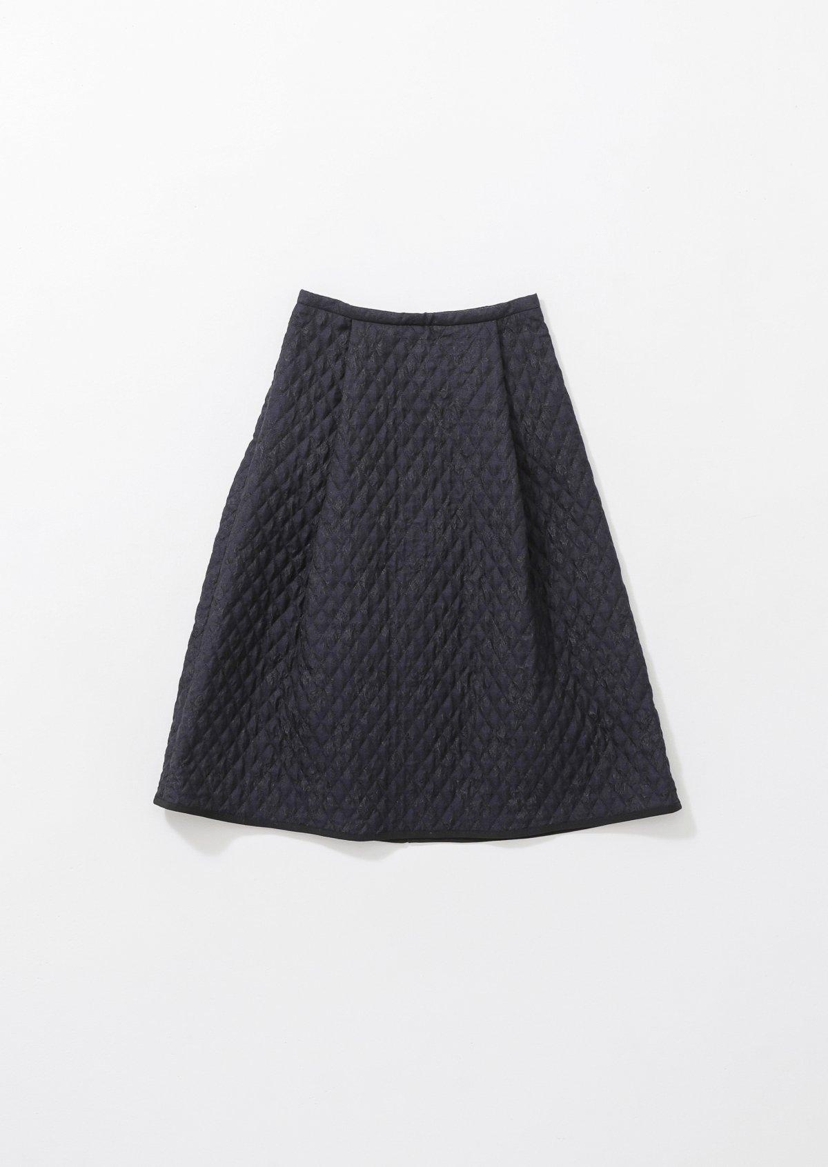 ブーケキルテッドスカート