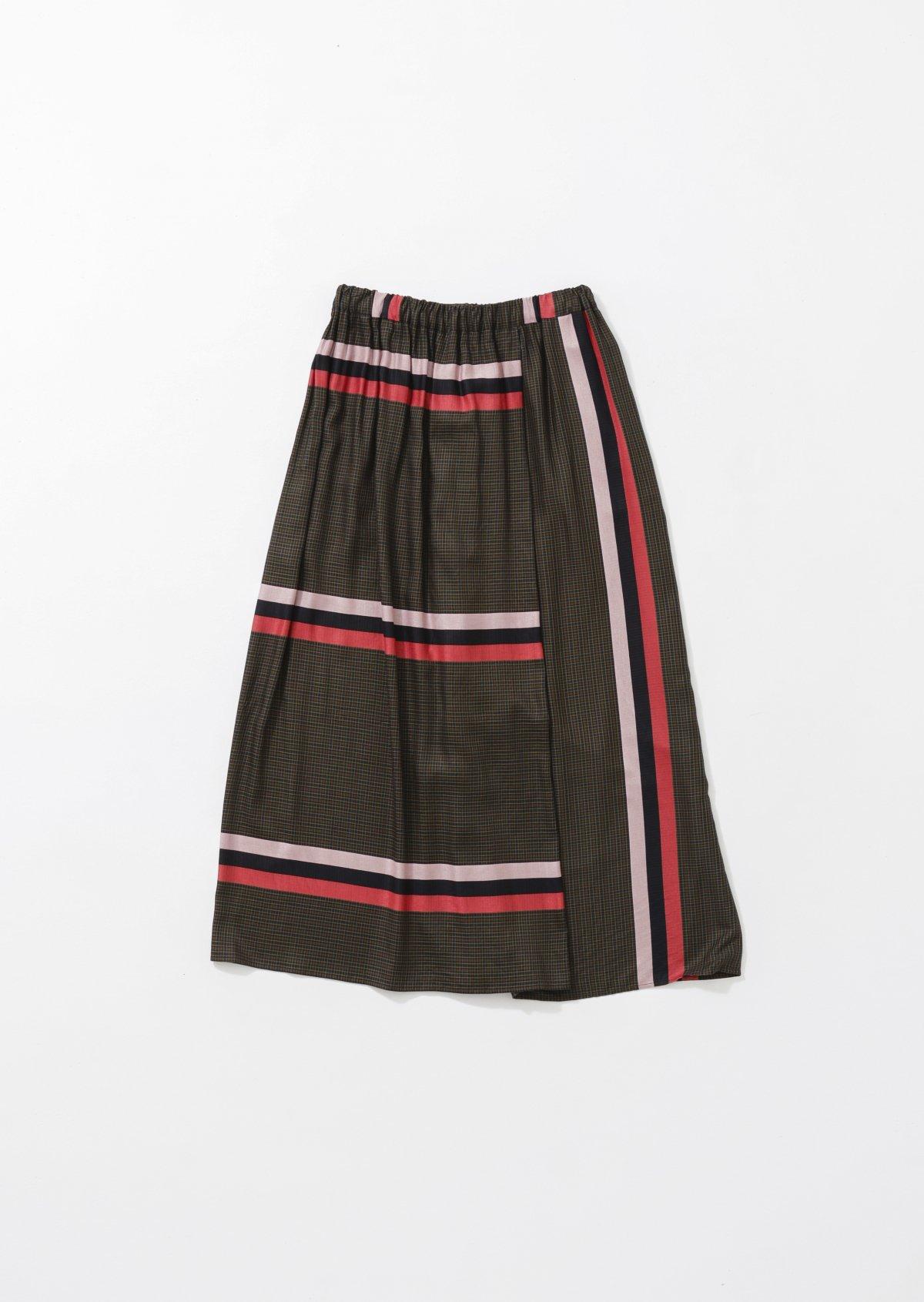 ラッピングスカート