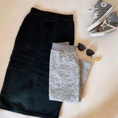 SELECT fleece tight skirt