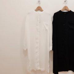 SELECT bandcollar shirt tunic