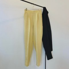 SELECT center press tapered pants